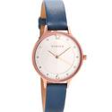 Skagen Women's SKW2497 Anita Blue Leather Watch