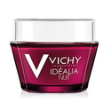 Vichy Idéalia Night Recovery Cream with Caffeine and Hyaluronic Acid for Uneven Skin Tone, 1.69 Fl. Oz