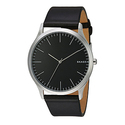 Skagen Men's SKW6329 Jorn Black Leather Watch