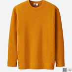 棉质长袖毛衣