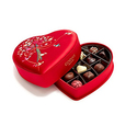 Godiva Chocolatier Limited Edition 2018 Valentine's Day Luxury Fabric Heart Assorted Gourmet Chocolates 14 Piece Gift Box