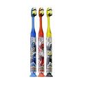 Gum Power Rangers Timer Light Toothbrush - Soft (3 Pack)
