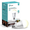 TP-Link Smart LED Light Bulb, Wi-Fi, Dimmable White, No Hub Required, 50W Equivalent, Works with Amazon Alexa and Google Assistant