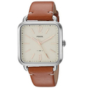 Fossil Women's 'Micah' Quartz Stainless Steel and Leather Casual Watch