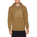 Adidas Men's Athletics Essential Cotton Pullover Hoodie, Cardboard/Cardboard, Large