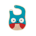 Skip Hop 动物园系列 可爱猫头鹰防水可折叠婴儿围兜
