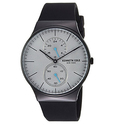 Kenneth Cole New York Men's Quartz Stainless Steel and Silicone Casual Watch