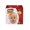 Huggies Little Snugglers Baby Diapers, Size 2, for 12-18 lbs., One Month Supply (186 Count)