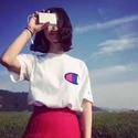 Champion LIFE 经典大logo 中性T恤