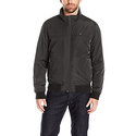 Tommy Hilfiger Men's Performance Barracuda Bomber With Logo At Back Neck, Black, M