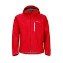 Marmot Minimalist Men's Lightweight Waterproof Rain Jacket, GORE-TEX with PACLITE Technology, Medium, Team Red