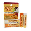 Burt's Bees 100% Natural Moisturizing Lip Balm 2 Tubes