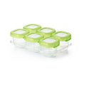 OXO Tot Baby Blocks Freezer Storage Containers, Green, 2 Ounce
