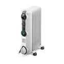 Delonghi KH390715CM Comfort Temp Full Room Radiant Heater, Light Gray
