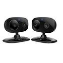 Motorola FOCUS66-BLK2 Wi-Fi HD Home Monitor Camera - 2 Pack (Black)