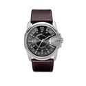 Diesel Men's DZ1206 Master Chief Stainless Steel Brown Leather Watch