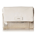 Fossil 'Ellis' Multifunction Pale Gold Metallic Wallet