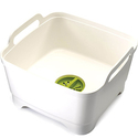 Joseph Joseph Wash & Drain Wash Basin Dishpan with Draining Plug Carry Handles