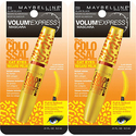 Maybelline New York Volum' Express The Colossal Cat Eyes Washable Mascara-2ct