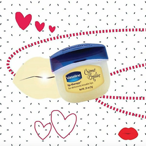 Vaseline Lip Therapy Lip Balm Mini, Creme Brulee