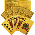 Trademark Poker GLDCARD 24K Gold Playing Cards