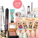 Benefit Cosmetics: 20% OFF Sitewide