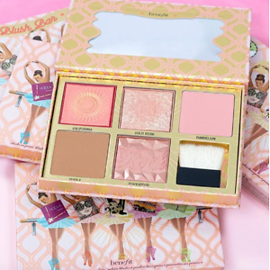 Benefit Blush Bar Cheeks On Pointe Bronzer & Blush palette