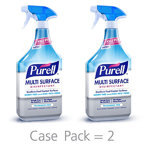 PURELL Multi Surface Disinfectant Spray 2pk