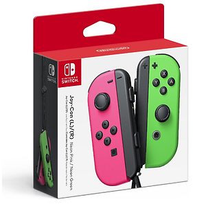任天堂限量版粉绿配色Switch Joy-Con 游戏机