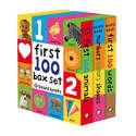 First 100 Board Book Box Set - 3 Books