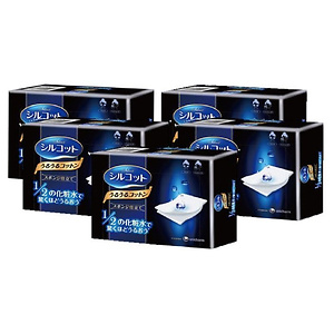 Unicharm 超省水双层化妆棉40片*5盒