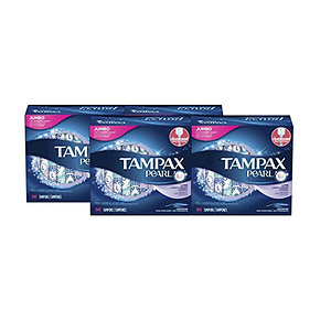 Tampax Pearl Light Plastic Unscented Tampons
