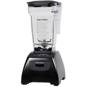 Blendtec Classic Fit Blender with FourSide Jar - Black