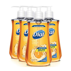 Dial Antibacterial Liquid Hand Soap 4ct