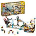 LEGO乐高 Creator创意百变系列31084 三合一海盗过山车