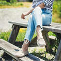Jack Rogers Taylor Suede Loafers