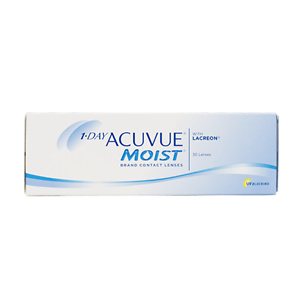1 Day Acuvue Moist Contact Lenses 30pcs