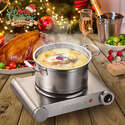 Amazon: SUNAVO Hot Plate for Cooking Portable Electric Single Burner 1500W 5 Power Levels Cast-Iron