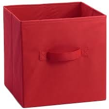 Assorted Color 10.5-inch x 10.5-inch Collapsible Fabric Storage Cubes (6-Pack)