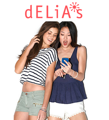 dELiA*s: 50% OFF Everything
