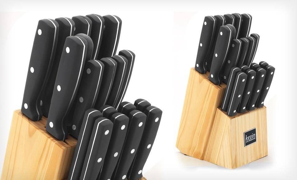Groupon: Kevin Dundon厨用刀具20件套