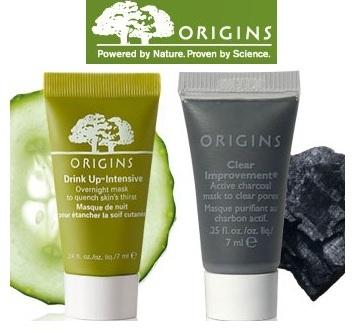 Origins: 2 Free Mask Samples + FS on $40 Orders