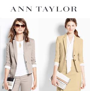 Ann Taylor:正价商品享30% OFF + 特价商品40% OFF