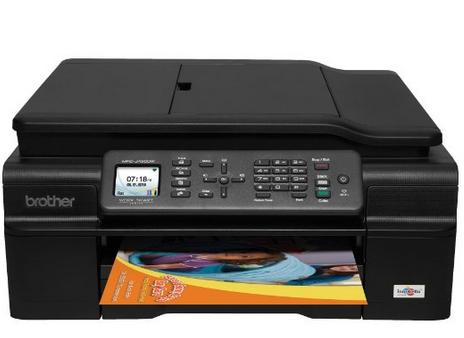 Brother MFCJ450DW 无线彩色一体打印机