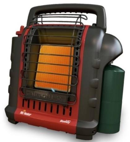 Mr. Heater F232000 MH9BX Buddy 4,000-9,000-BTU 室内安全取暖电烤火炉