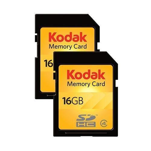 柯达16GB SDHC记忆卡*2