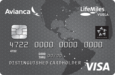 Avianca Vuela Visa® Card