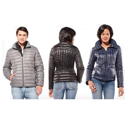 Groupon: 男女修身款羽绒服特卖