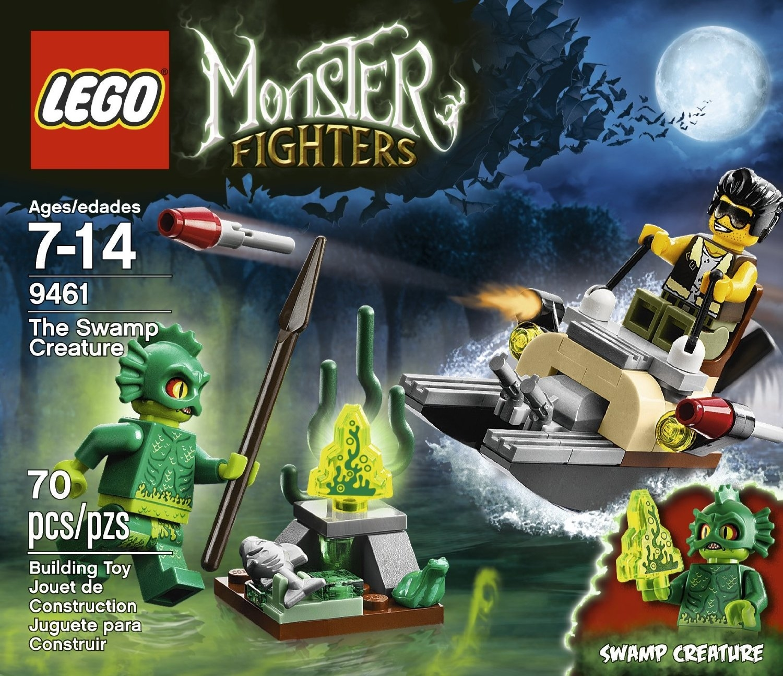 LEGO Monster Fighters乐高怪兽战士系列 9461 沼泽生物玩具