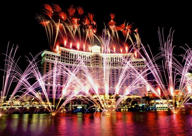 预购拉斯维加斯机票+旅馆可获得两倍积分和表演票